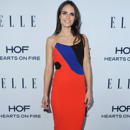 Jordana Brewster's Dress at Elle's Women in TV Event