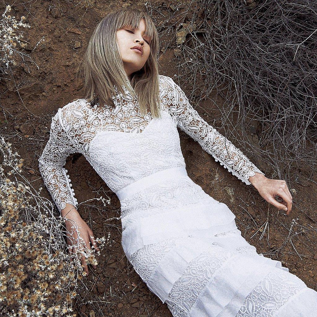 Self portrait wedding dresses spring 2016 popsugar fashion for Self portrait wedding dress