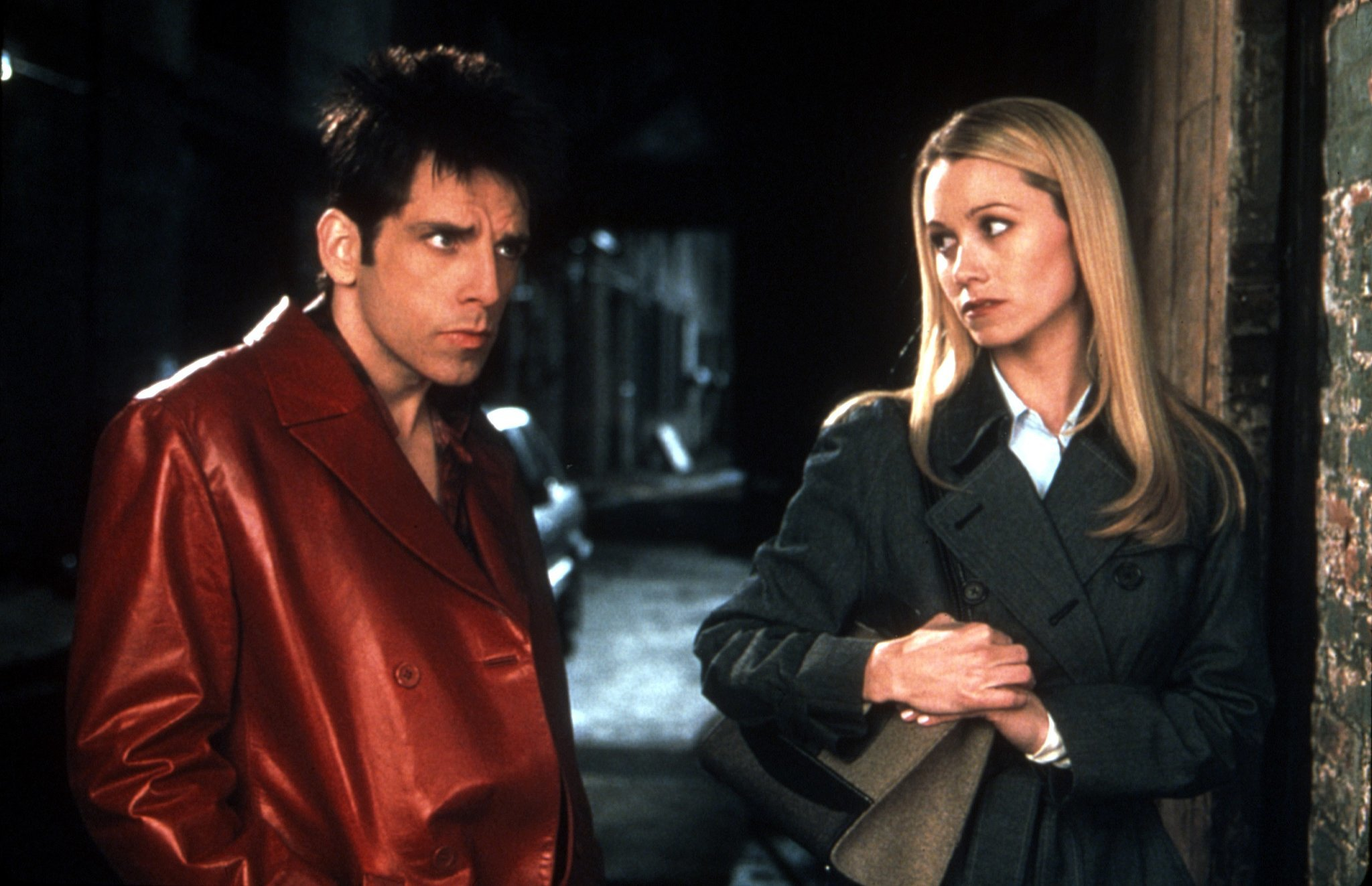 Ben Stiller and Christine Taylor, Zoolander