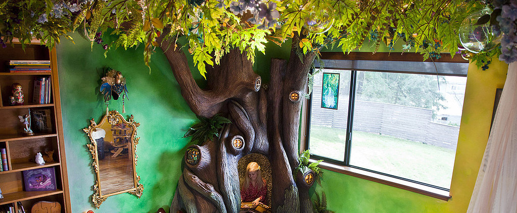 This Dad Built an Actual Tree in His Daughter's Bedroom