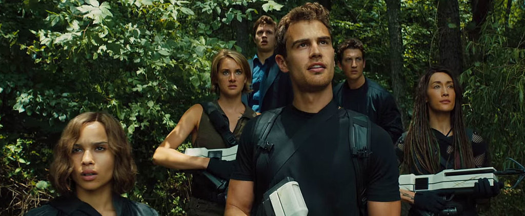 The Newest Allegiant Trailer Is Beautiful, and Not Because Theo James Gets Naked