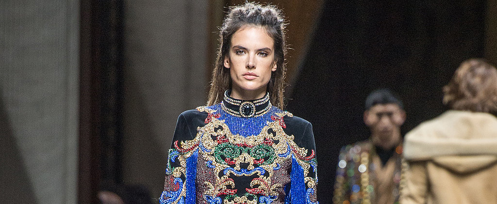 Your Favourite Supermodels Walk the Balmain Runway in Looks You Have to See Up Close