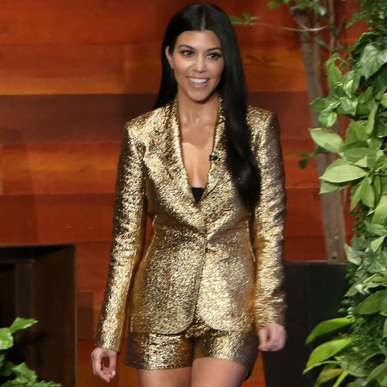 Kourtney Kardashian on The Ellen DeGeneres Show January 2016