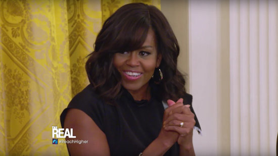EXCLUSIVE: Michelle Obama Says Her First Night in College 'Was a Mess'