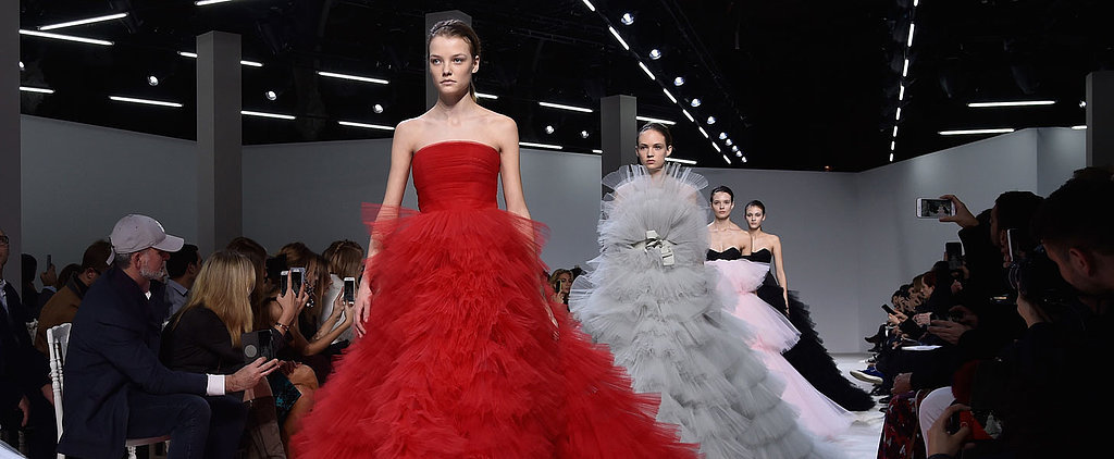 Giambattista Valli Couture Is a Parade of Dresses We Want to See on the Oscars Red Carpet