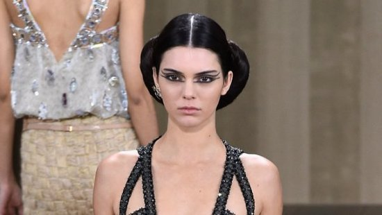 Welcome To The Doll House: Kendall Jenner & Gigi Hadid Look Semi-Creepy On The Paris Runway For Chanel