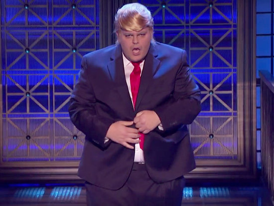 Josh Gad Dresses as Donald Trump and Makes Out with Johnny Galecki in Wild Lip Sync Battle Preview