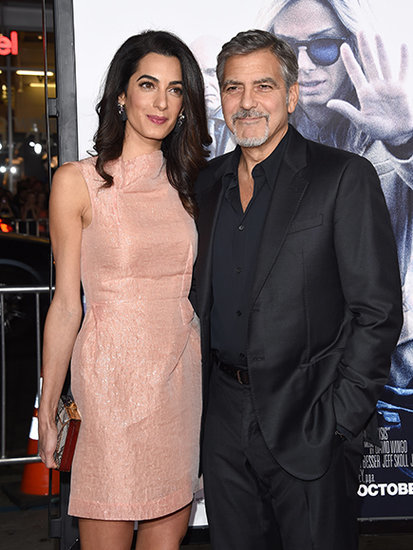 George Clooney and Amal Clooney Are Not Expecting - But She Does Have a Reason to Celebrate