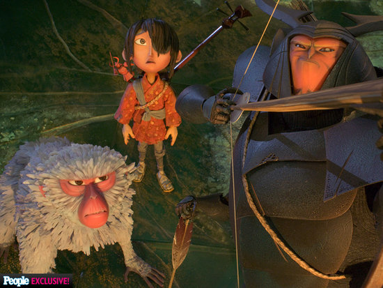 Matthew McConaughey and Charlize Theron Make Their Animated Film Debut in Kubo and the Two Strings - See Their Characters!