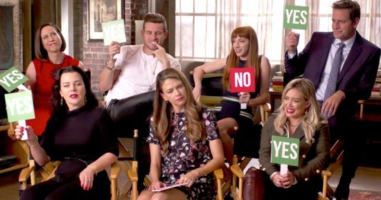 Hilary Duff and the Younger Cast Reveal If They've Ever Had Sex in a Public Place: Watch Now!