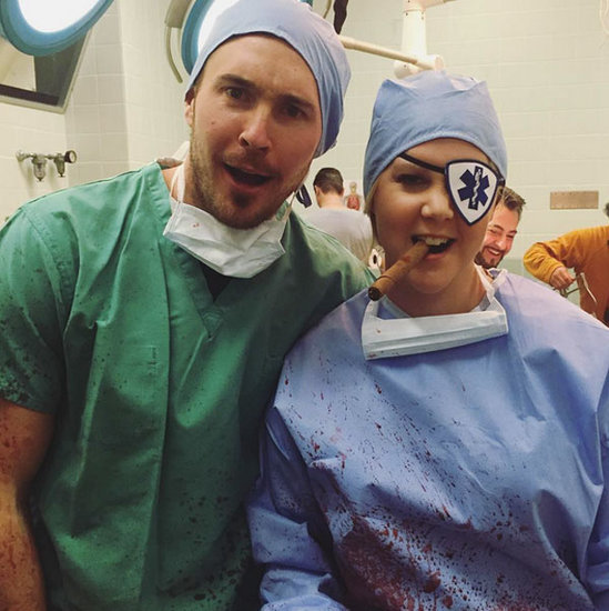 Is Amy Schumer's Boyfriend in the New Season of Inside Amy Schumer? See Their Bloody Good Time ... in ER Scrubs!