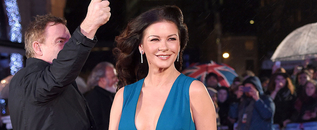Catherine Zeta-Jones's Red Carpet Look Will Remind You How Much You Missed Her