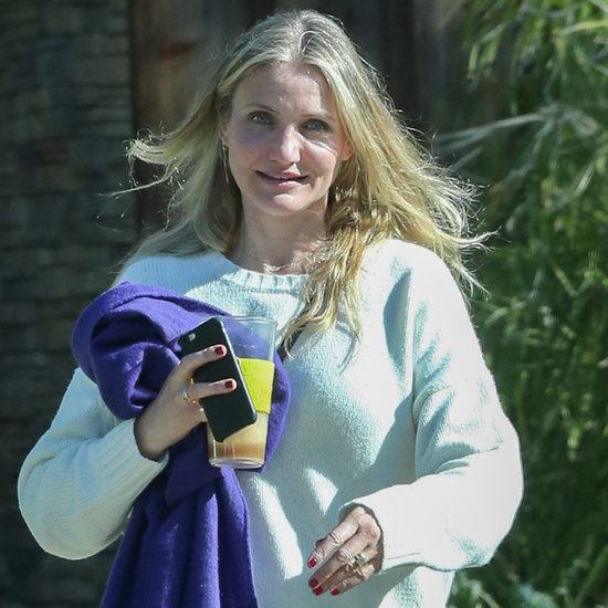 Cameron Diaz Engagement Ring Pictures January 2016
