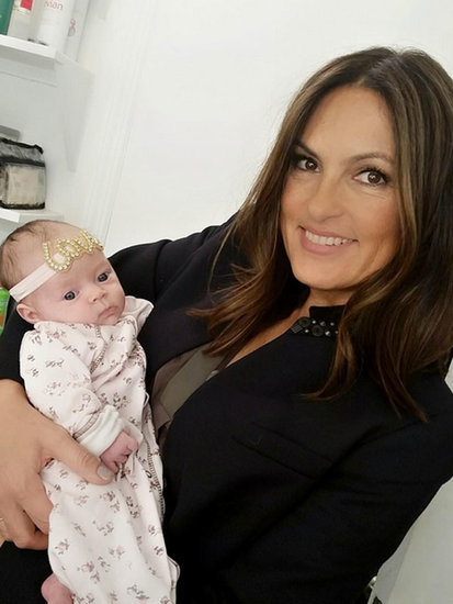Mariska Hargitay Meets Baby Chanel: She Has Her Daddy Ice-T's Eyes
