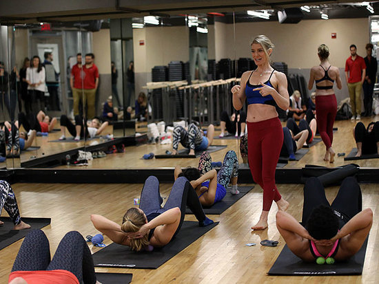 We Tried It: A Muscle Relaxation and Recovery Class Taught by Kelly Osbourne's Trainer