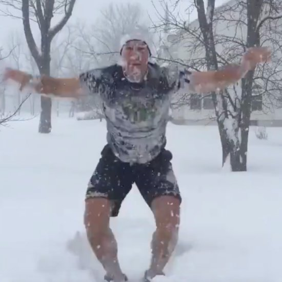 Burpees in the Snow