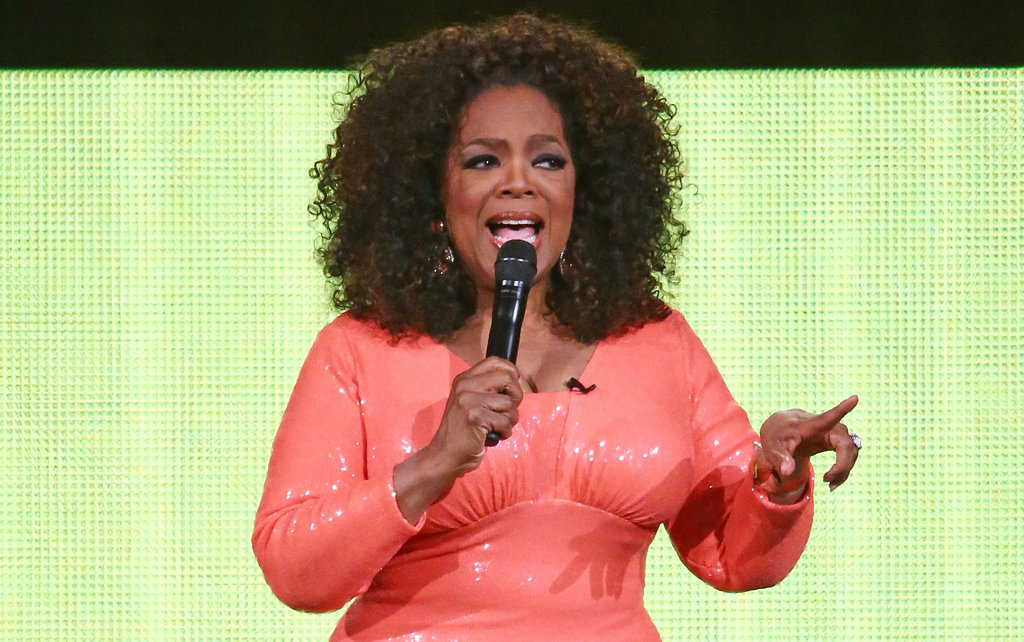 Oprah was on point during her Melbourne tour stop in December 2015.