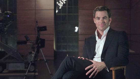 EXCLUSIVE: Chris Pine Shares His Thoughts on Modeling, Says It's 'Not For Me'