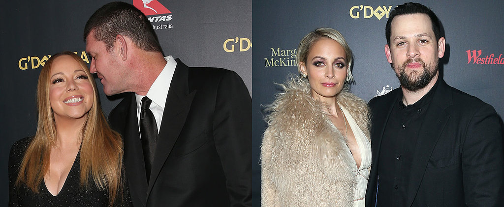 James and Mariah Lead the Red Carpet at 2016 G'Day USA Gala in Hollywood