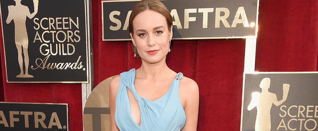 You'll Flip Over Brie Larson's SAG Awards Updo
