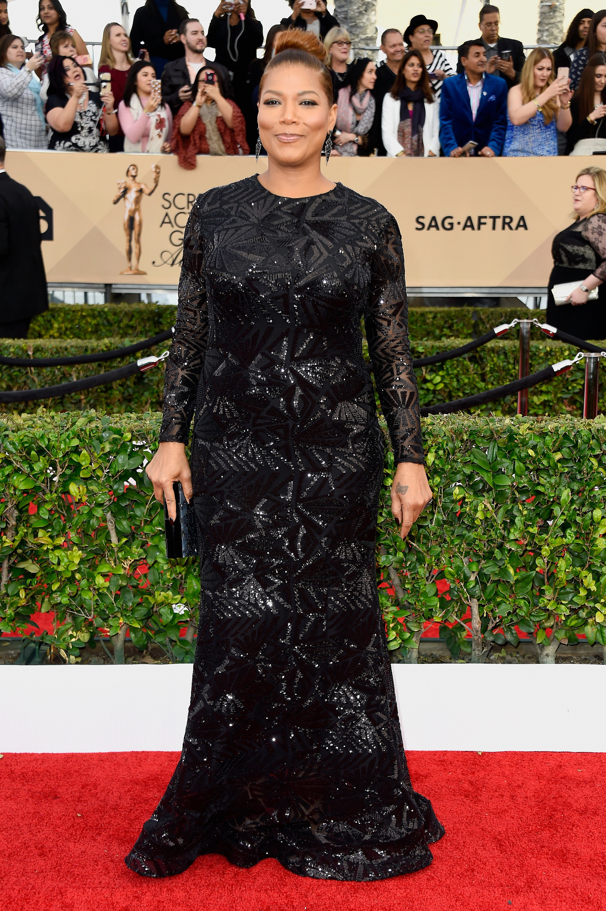 Queen Latifah - Best and Worst Dressed at the Peoples