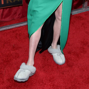 Carol Burnett Wearing Slippers at SAG Awards 2016