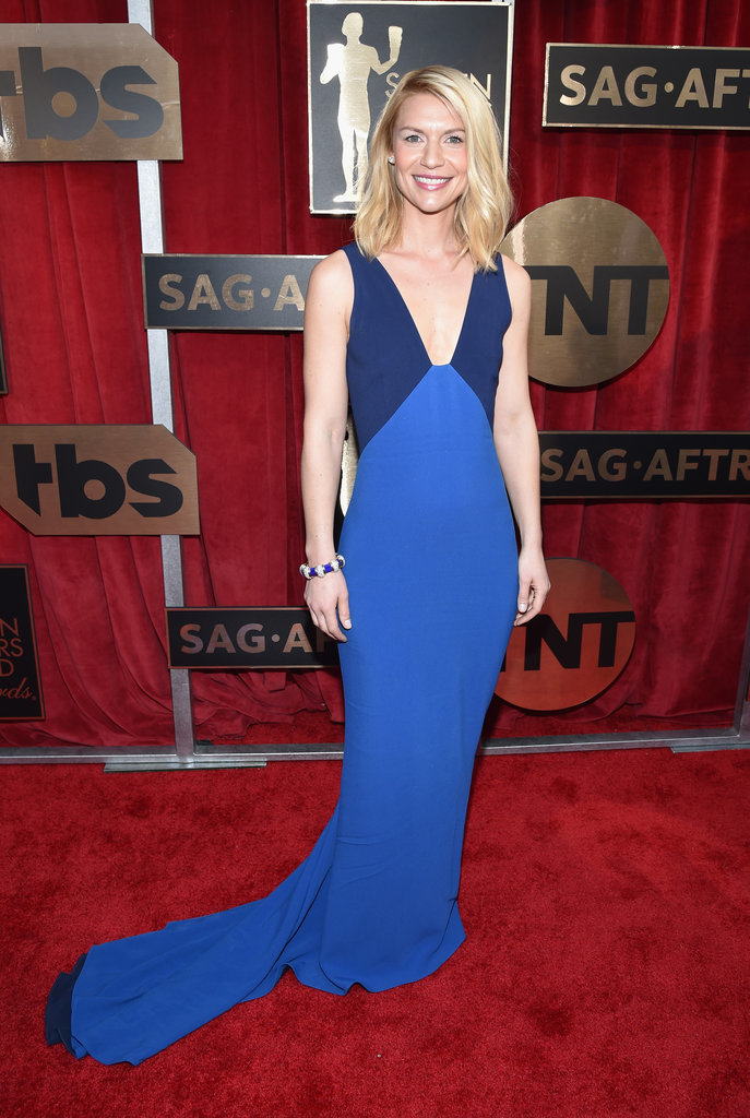 Claire Danes in a Stella McCartney gown.