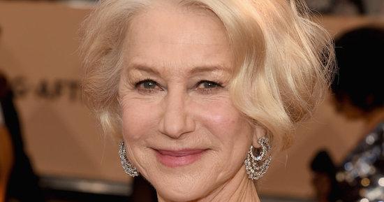 Helen Mirren's SAG Awards Dress Is Absolutely Regal