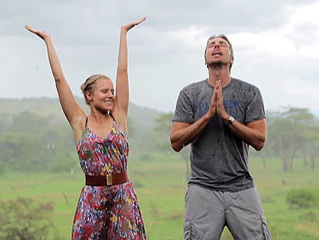 VIDEO: Kristen Bell And Dax Shepard Are Beyond Cute in Their 'Africa' Vacation Video Flashback