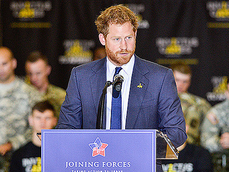 VIDEO: Watch Prince Harry Cheer on Invictus Games Hopefuls