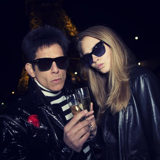 Cara Delevingne and Derek Zoolander's Walk-Off in Paris