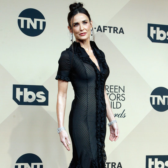 Demi Moore's Zac Posen Gown at SAG Awards 2016
