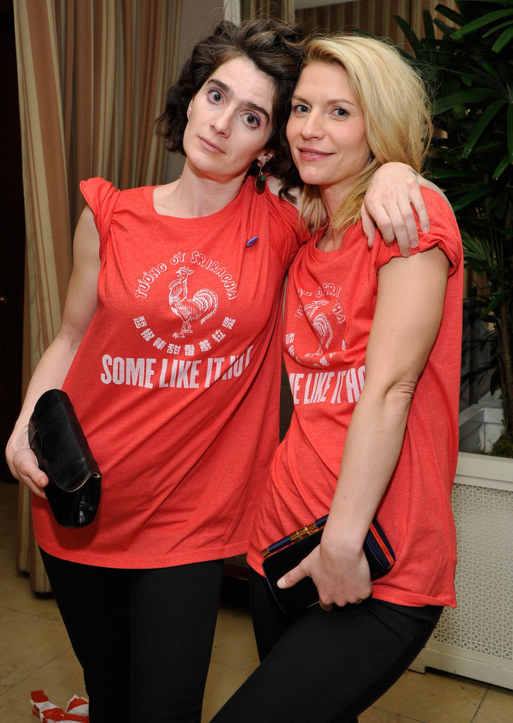 Pictured: Claire Danes and Gaby Hoffmann