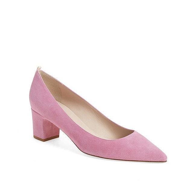 Sarah Jessica Parker 'Katrina' Pointy Toe Block Heel Pump ($350)