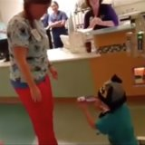 Watch This Boy's Sweet Hospital Proposal That Is Tugging at Our Heartstrings