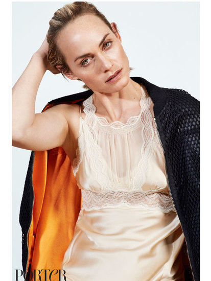Why Amber Valletta Feels 'Safer' Working with Female Photographers