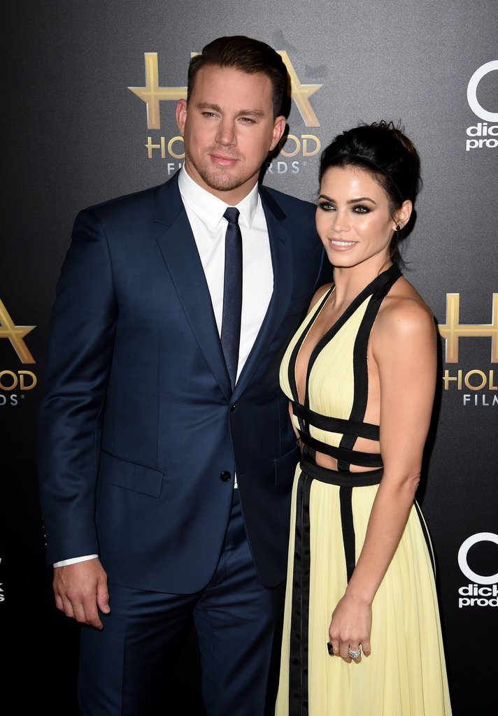 They looked smoking hot together at the Hollywood Film Awards in November 2015.
