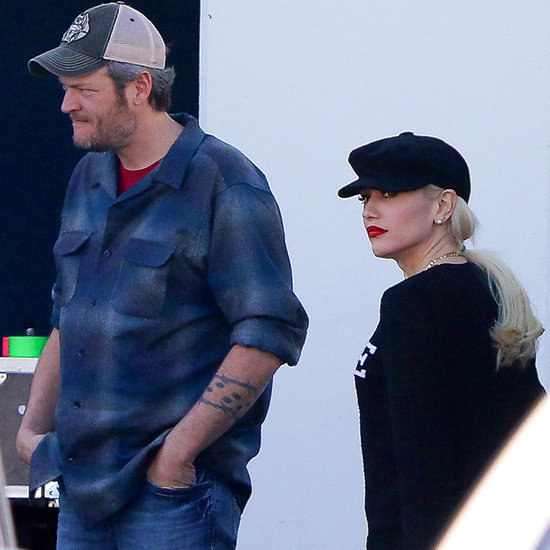 Gwen Stefani and Blake Shelton Out in LA February 2016