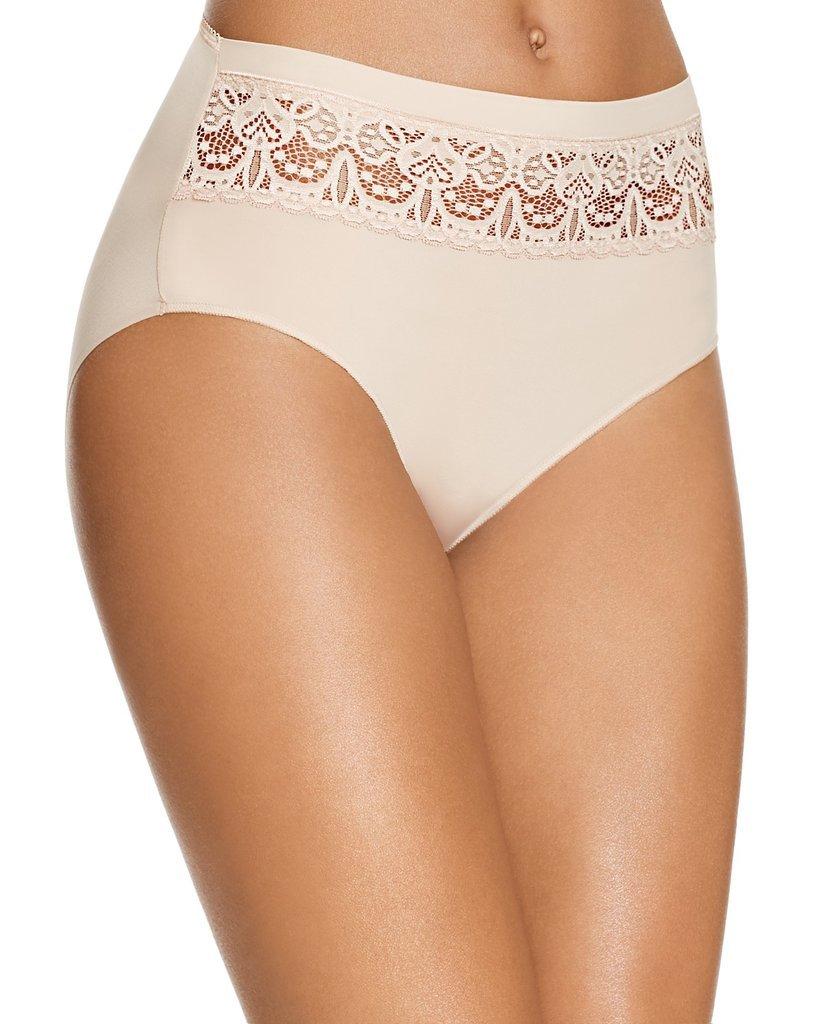 TC Fine Intimates Lace Trim French Hi-Cut Bikini ($18)