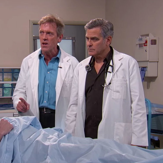 George Clooney ER Skit on Jimmy Kimmel Live