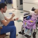 Watch This Nurse Sing His Way Into His Patient's - and Your - Heart