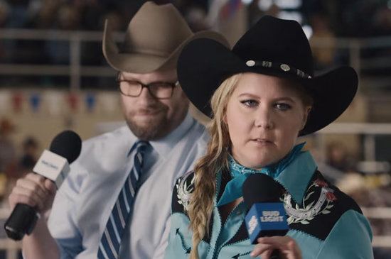 Seth Rogen And Amy Schumer's Super Bowl Commercial Is Here And It's Pretty Hilarious