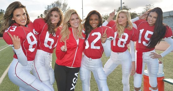 Victoria's Secret Angels Play the Sexiest Game of Football Ever in Super Bowl-Themed Ad: Watch!