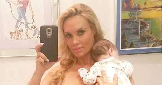 Coco Austin Does Double-Duty Waist Training and Taking Care of Baby Chanel in 'Real Life Candid Pic'