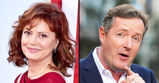 Susan Sarandon and Piers Morgan Are In a Twitter Battle Over Her Boobs