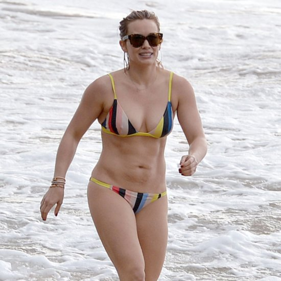 Hilary Duff Hawaii Vacation Pictures February 2016