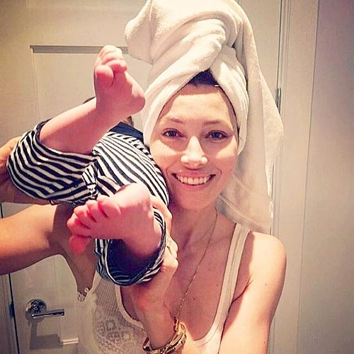 Pictures of Justin Timberlake and Jessica Biel's Baby Silas