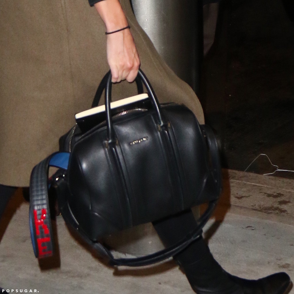 Her Givenchy bag got a flashy upgrade.