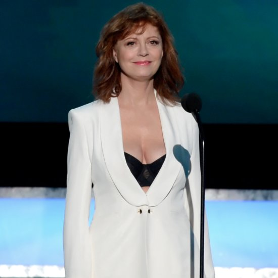 Susan Sarandon Responds to Piers Morgan's Comments About Her Cleavage
