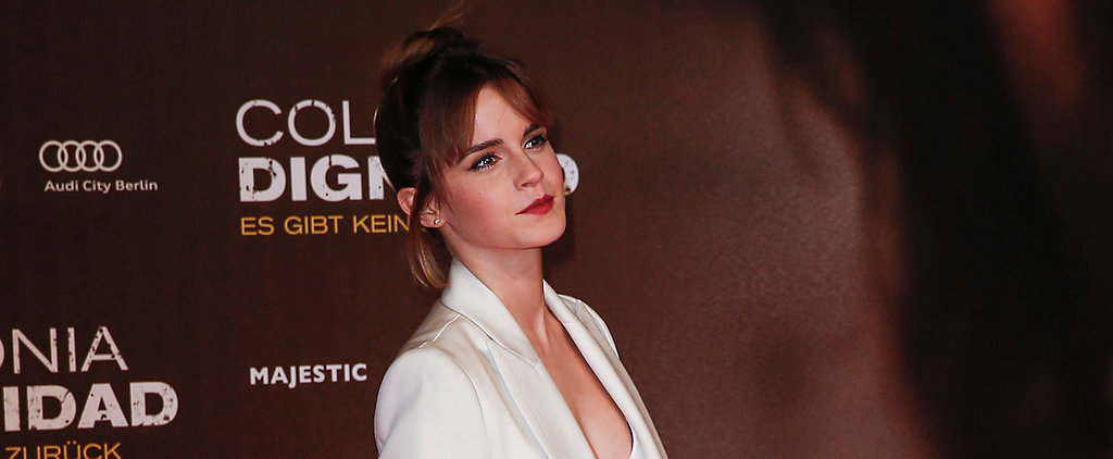 Emma Watson's Latest Is the Anti-Naked Dress